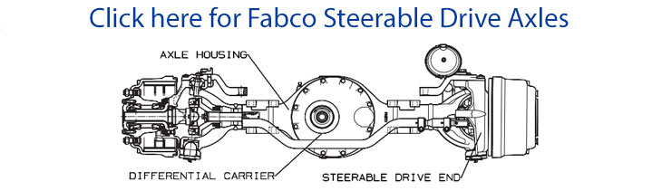 Fabco Steerable Drive Axles
