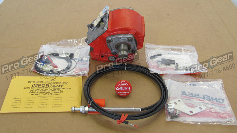 Chelsea PTO parts and Parker power take off Manuals